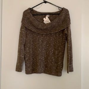 Cute tan fall sweater